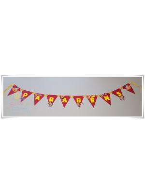 Bandeirola Ruca (Parabéns)